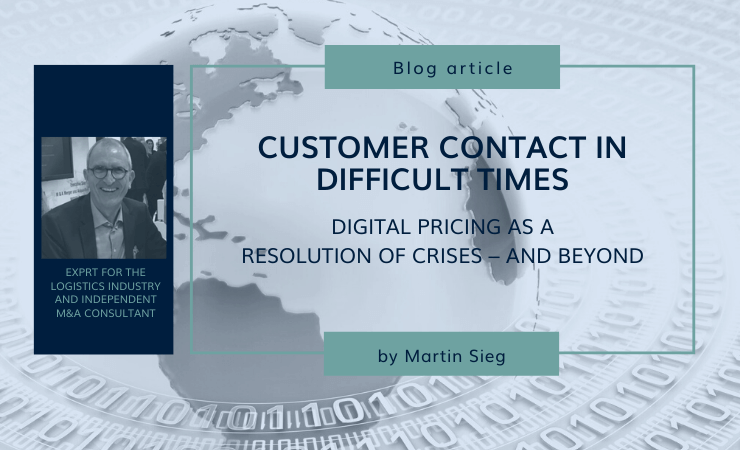 Customer contact in difficult times